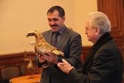 Символ Ингушетии «бронзовый орел» вернулся на родину