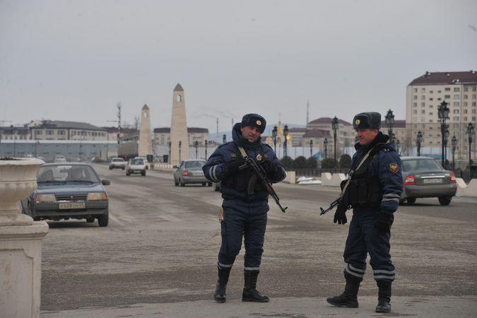 В Чечне решили разоружить полицию