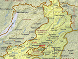 Карта интерактивная, вы можете увеличивать и уменьшать масштаб.  Ниже для вас предоставлена карту Забайкальского края...