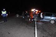 На трассе под Воронежем лоб в лоб столкнулись две легковушки: один погибший, трое раненых