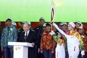 Полиция: Встреча Олимпийского огня в Москве прошла без происшествий