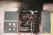 В Новосибирске из-за плохого электрощитка случился пожар в жилом доме