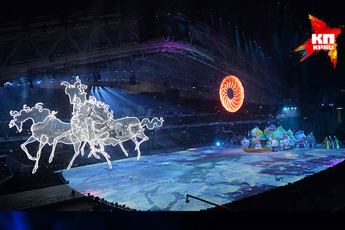 Открытие Олимпиады в Сочи: 3 тысячи актеров и 2 тысячи волонтеров