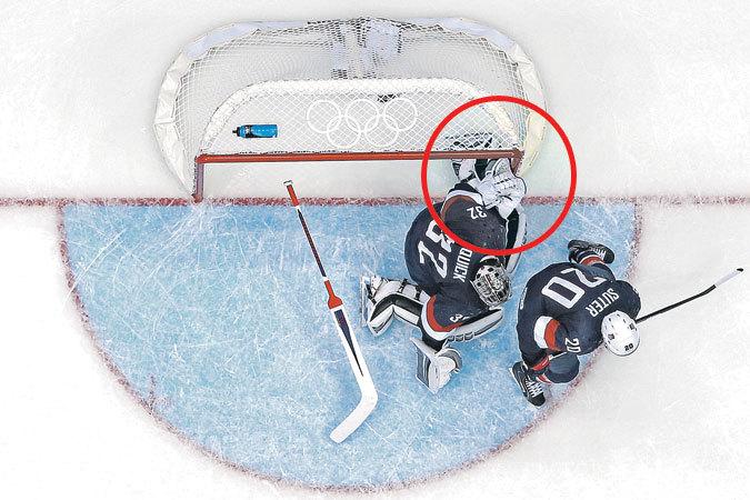 Хоккейный матч Россия - США