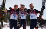 Сборная России выиграла медальный зачет на Олимпиаде в Сочи