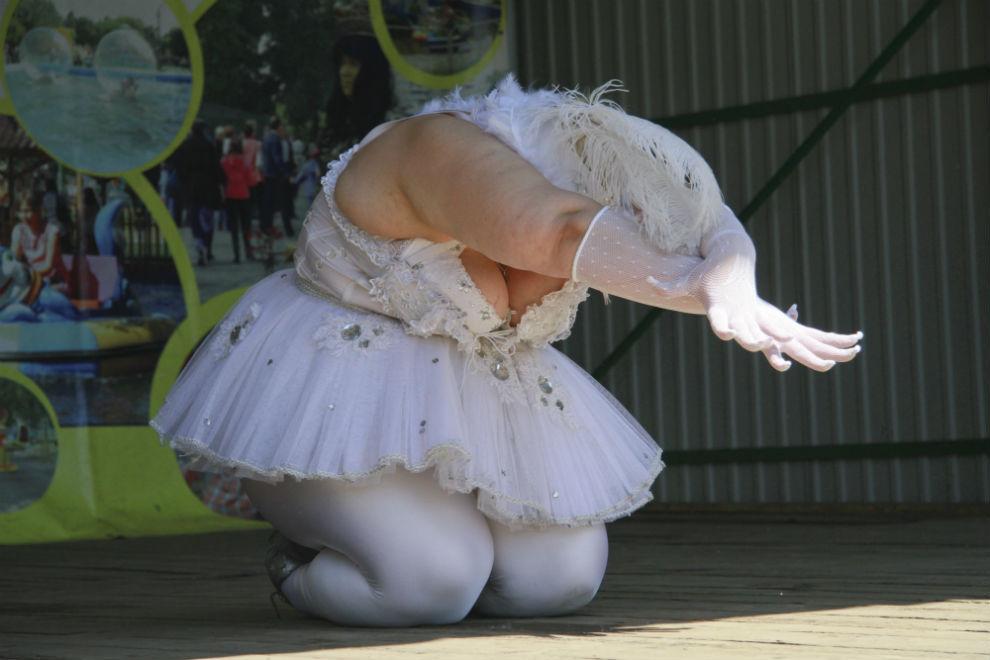 Жирная балерина картинка