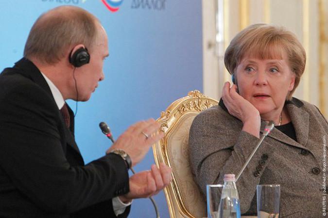 Путин – меркель крымский референдум