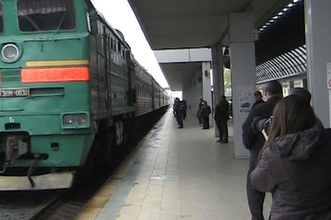 в поезда «Москва-Кишинев»