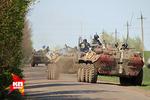 Украинская армия начала наступление на Славянск