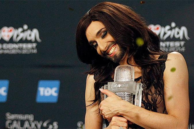 «Евровидение» с бородой (10 фото и 2 видео)