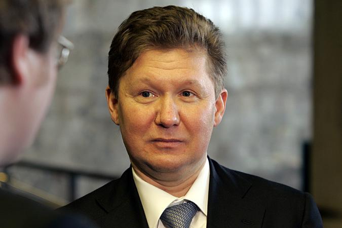 Глава «Газпрома» Алексей Миллер: «Украина — банкрот»