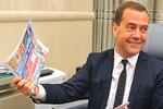 Премьер показал журналистам «Комсомольской правды» свой рабочий кабинет в «Белом доме»