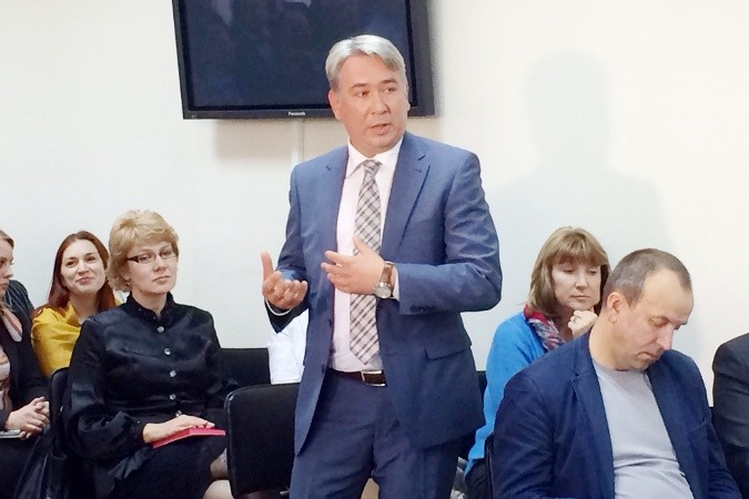 И.о. начальника департамента областного здравоохранения назначен Александр Холопов