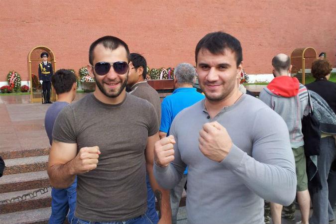 Николай Леонов (слева) с другом Александром Власовым