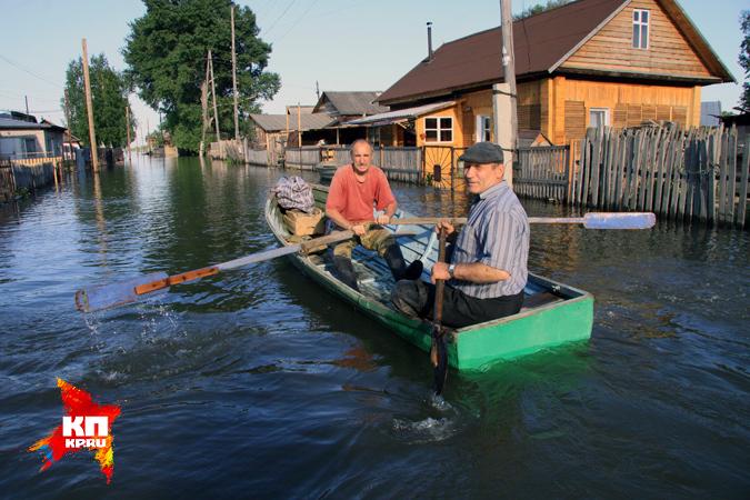 уровень воды в реке обь: