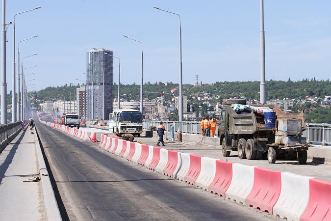 моста Саратов-Энгельс: