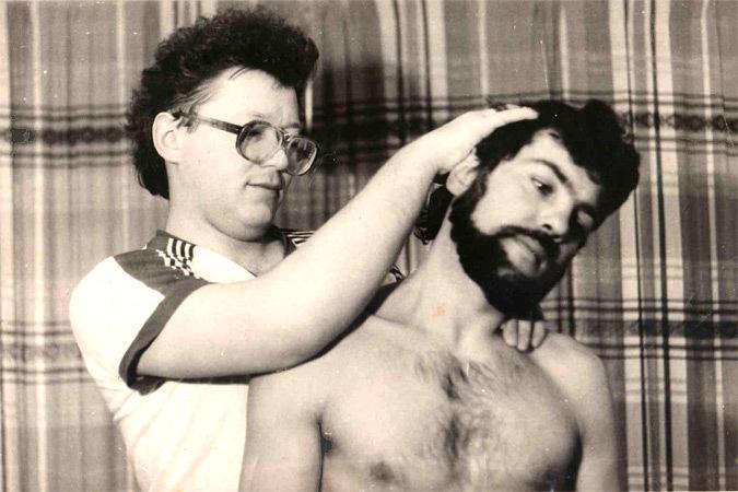 Ю. И. Колягин в работе с пациентом