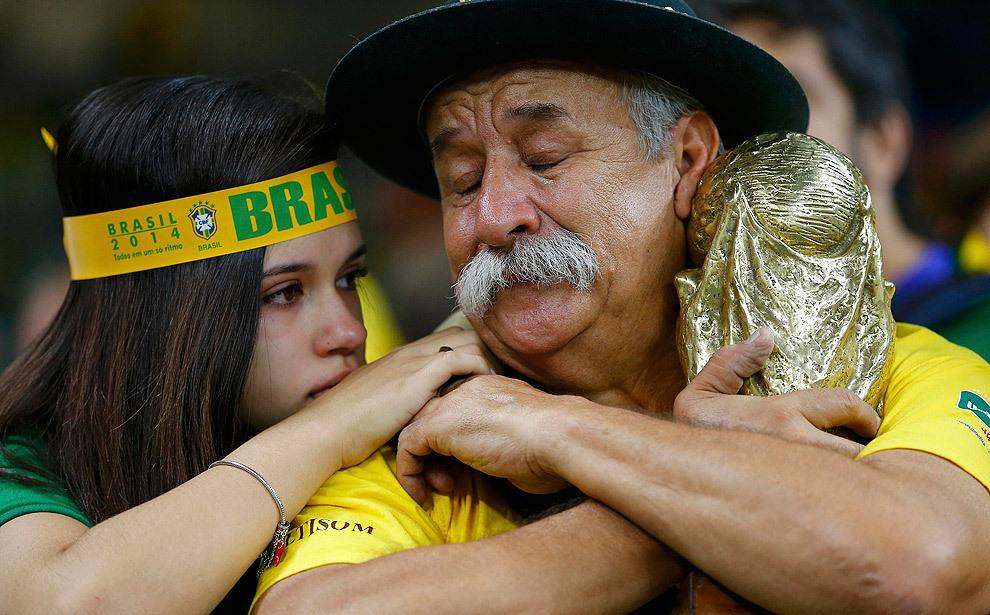 Сборная Бразилии по футболу, Сборная Германии по футболу, ЧМ-2014