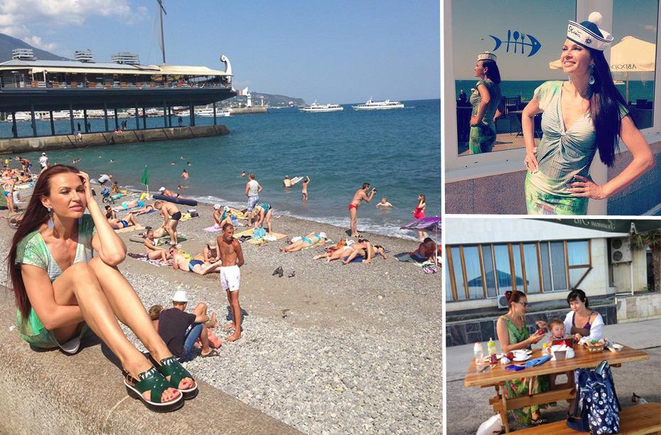 Какие звезды из России и Украины отдыхают в этом году в Крыму фото