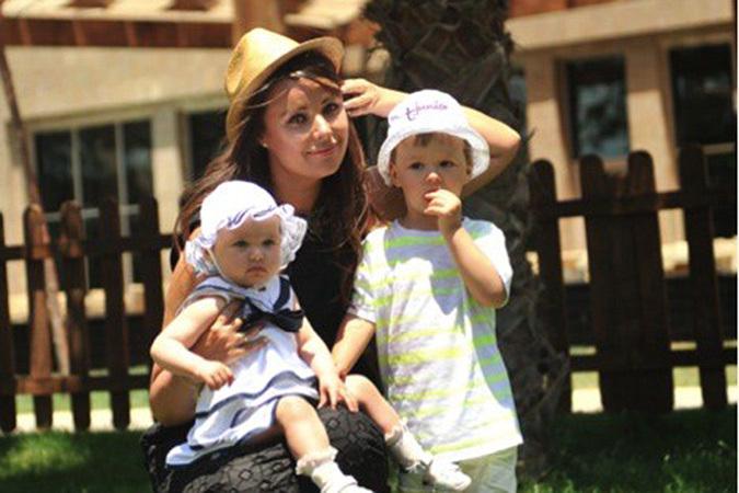 оксана фёдорова с детьми фото
