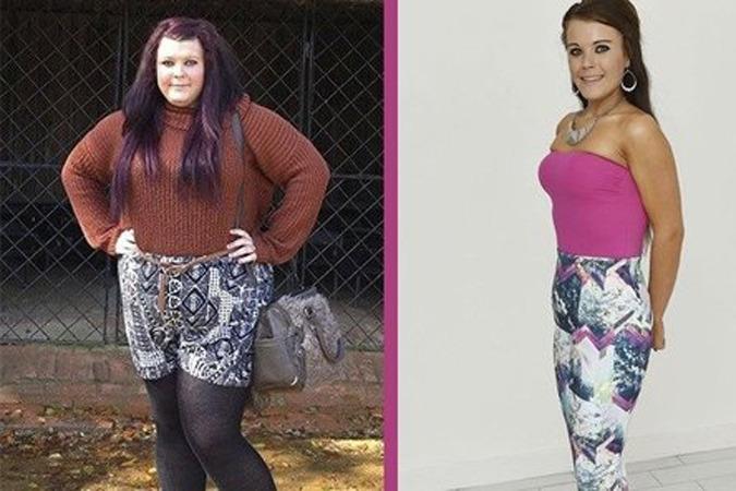 девушка похудела на 54 кг:
