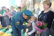 Владимирские спасатели наградили медалью 9-летнюю девочку