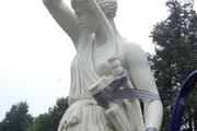 Реставраторы не смогли убрать нецензурную брань со статуи Афины