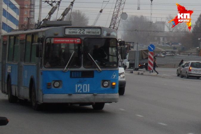 маршрут троллейбуса № 22