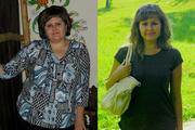Сибирячка сбросила 40 кило ради парня из интернета