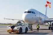 В аэропорту Екатеринбурга лайнер столкнулся с погрузчиком