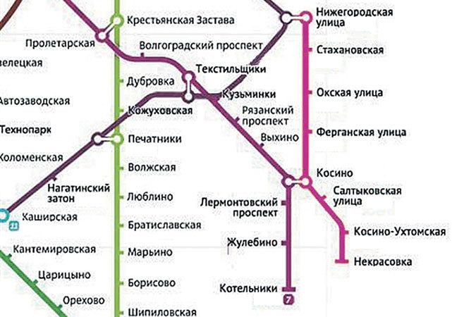 На схеме метро появится