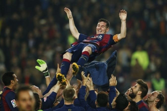 Золотой мяч, Барселона, Лига чемпионов, Лионель Месси, Ла Лига