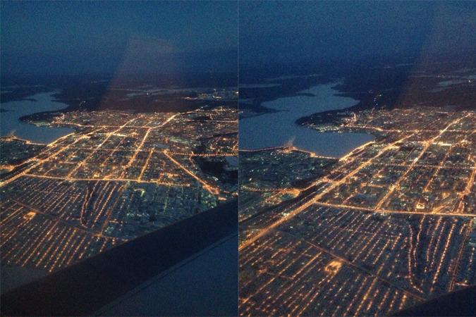 Девушка сфотографировала Ижевск с высоты птичьего полета. Поделиться с дру