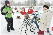 Битва снеговиков (от 3 лет)