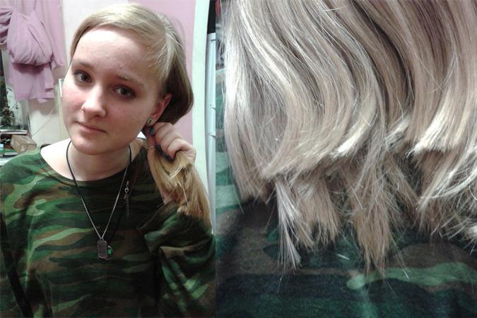Мама хочет отрезать мне волосы