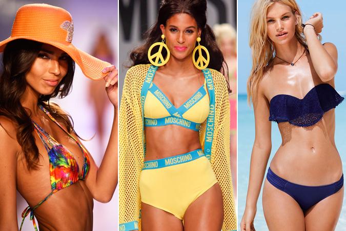 Модні тенденції на купальники 2015