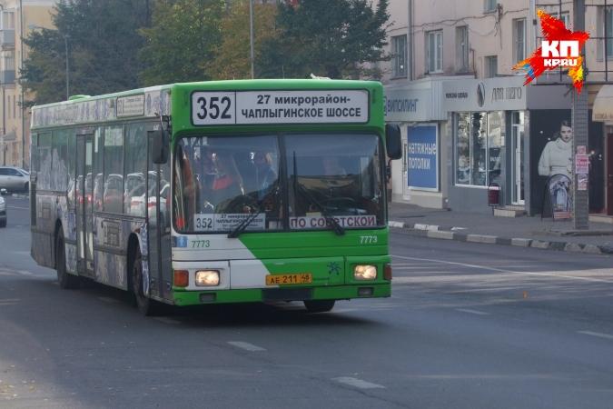Общественный транспорт в День