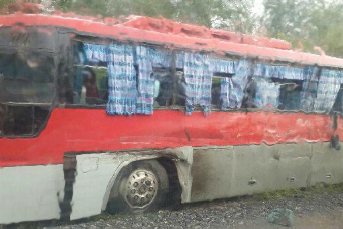 На трассе М-53 в Красноярском