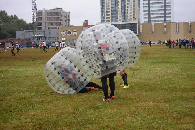 В Перми на стадионе «Юность» прошла ярмарка нетрадиционных видов спорта