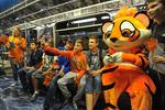 В московском метро теперь есть  «полосатый рейс»