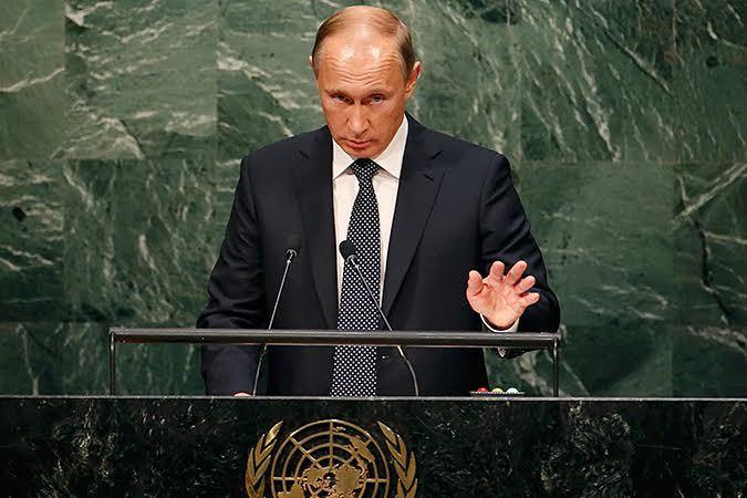 Выступление В.В. Путина на 70-ой ассамблее ООН