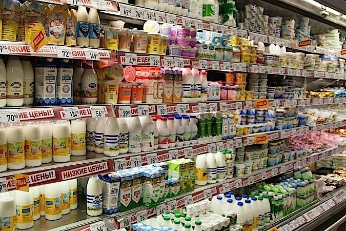 Почему в упаковках молока