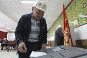 За парламент Киргизии голосовали по отпечаткам пальцев