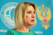 Официальный представитель МИД РФ Мария Захарова: Когда «кажется» - возьмите трубку и проверьте