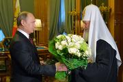 Путин - Патриарху: Спасибо за все, что вы делаете для России