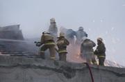 В Рязани загорелось только что отремонтированное здание цирка