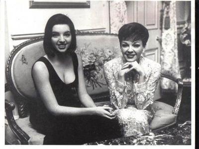 Лайза Минелли и ее мать Джуди Гарленд