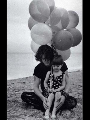 Джонни Депп и его племянница Меган