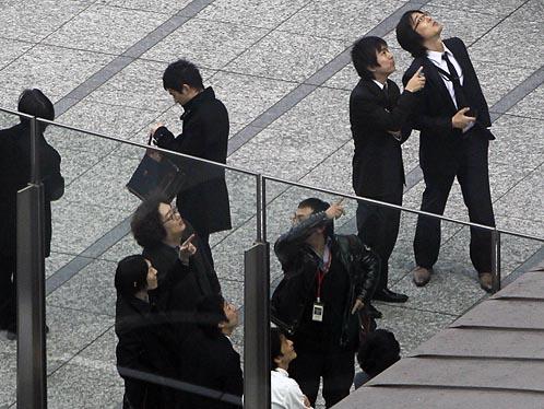 Работники офисов срочно покинули высотные здания