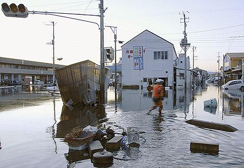 Города затоплены водой